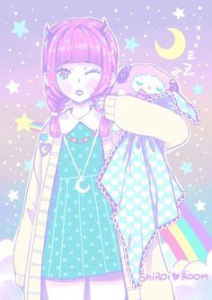 Pastel // Aesthetic \\ Girl // Anime Girl