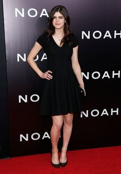 Alexandra Daddario Photos - Model/actress Alexandra Daddario attends the New York Premiere of 'Noah' at Clearview Ziegfeld Theatre on March 2014 in New York City. - 'Noah' Premieres in NYC — Part 4 Alexandra Daddario, Most Beautiful Hollywood Actress, Fashion Cover, Emma Watson, Celebrity Style, Fashion Dresses, Mini Skirts, Celebs, Clothes For Women