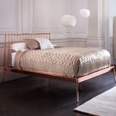 Heal's | Cantori Urbino Continental Kingsize Bed - Bed Frames - Beds - Furniture