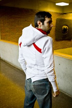assassin's creed hoodie back by volante design