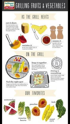 Easy Tips for Grilling Fruits & Veggies