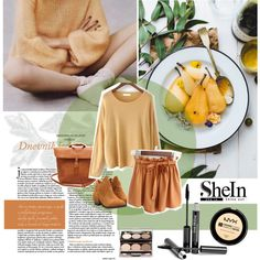 How To Wear Yellow Round Neck Knit Sweater Outfit Idea 2017 - Fashion Trends Ready To Wear For Plus Size, Curvy Women Over 20, 30, 40, 50