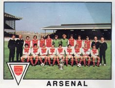002 - Arsenal Team  Year Formed: 1886 (As Royal Arsenal)  Ground: Highbury Stadium  Ground Capacity: 60,000  Record Attendance: 73,295 vs. Sunderland, Division 1, March 1935  Honours: Division 1 Champions: 1930-31, 1932-33, 1933-34, 1934-35, 1937-38, 1947-48, 1952-53, 1970-71 - F.A. Cup Winners: 1930, 1936, 1950, 1971, 1979 - European Fairs Cup Winners: 1970  Colours: Red Shirts with White Sleeves, White shorts, red stockings with white band at top.