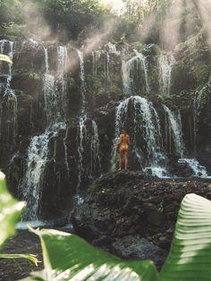 Exploring a new hidden Waterfall in Bali. Wanderlust Instagram: small.lena