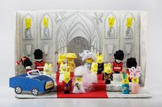 """Just Peep'd"" (Royal Wedding of Prince William and Kate Middleton): 6th Annual Peeps Diorama Contest Finalist (2012)"