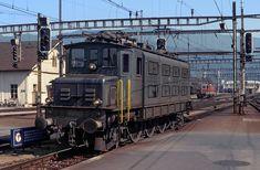 Swiss Railways, Electric Locomotive, Trains, History, Historia, Train