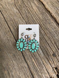 Turquoise Enamel Earrings Mommy Jewelry, Cowgirl Jewelry, Geek Jewelry, Western Jewelry, Western Turquoise Jewelry, Cute Jewelry, Indian Jewelry, Jewelry Accessories, Fashion Jewelry