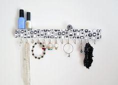 Jewelry Organizer Wall Jewelry Holder Jewelry Storage Necklace