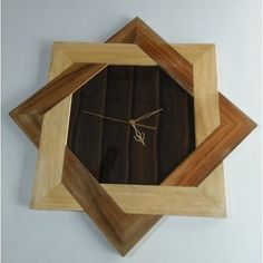 Plain Wood Wooden Wall Clock For Home Decoration, Rs 1500 /piece Wall Clock Wooden, Wood Clocks, Wooden Art, Wooden Walls, Unique Wall Clocks, Clock Art, Diy Clock, Clock Decor, Clock Ideas