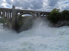 #Spokane Falls: A must-do while in Spokane Washington