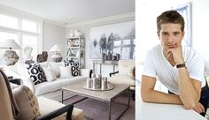 """CORNFORTH WHITE, FARROW & BALL """"My go to white paint color is hands down Cornforth White by Farrow & Ball. It is still in the white family but has tiny emulsions of pale grey which adds interest and depth to a room without being stale."""" -Sam Allen"""