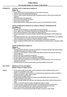 clinical research assistant resume samples velvet jobs research assistant contract template doc