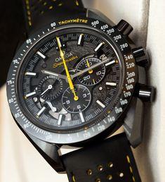 Omega Speedmaster Dark Side Of The Moon Apollo 8 Watch