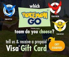 Pokemon Free Visa Card