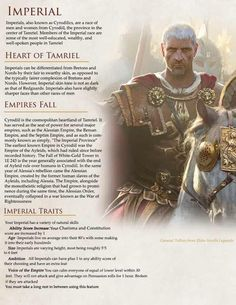 Post with 4457 votes and 189064 views. Tagged with elderscrolls, homebrew, dungeonsanddragons; Shared by The Elder Scrolls races in D&D for some upcoming stuff Elder Scrolls Races, Elder Scrolls Lore, Elder Scrolls V Skyrim, Elder Scrolls Online, Scrolls Game, Skyrim Races, Skyrim Lore, D D Races, Dungeons And Dragons Homebrew