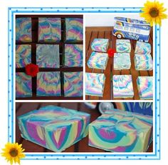 wonderful summer soap, happy colours