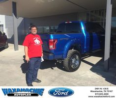 Waxahachie Ford Customer Review  2nd truck from Mr Bowers. Fast, easy, honest. Thanks    Dwayne, https://deliverymaxx.com/DealerReviews.aspx?DealerCode=E749&ReviewId=55530  #Review #DeliveryMAXX #WaxahachieFord