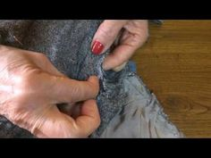 Come stringere un pantalone dalla vita parte prima - YouTube