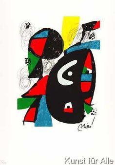 Joan Miró - La Melodie Acide VIII