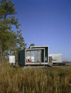 House on Hoopers Island, Maryland by David Jameson Architect