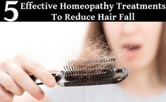 5 Effective Homeopathy Treatments To Reduce Hair Fall