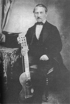 Napoleon Coste (1805 - 1883) born in Amondans, France, Coste was taught to play guitar by his Mother; an accomplished guitarist in her own right. Coste in turn began to tutor others as a teenager. At 24 he moved to Paris and studied under Fernando Sor. Coste's virtuosity was immediately evident and he became the leading French guitarist of his time. Coste reverted to teaching in 1863 after an injury to his arm left him unable to play again.