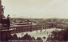 Zócalo capitalino, según Manuel Aguirre por ahí del año 1915