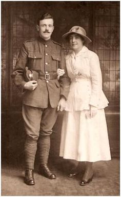 1917  Soldier William (Billy) Rogerson Eckersley married Winifred Agnes Quinn on October 10th 1917 in Bolton.