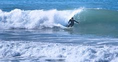 Catching Waves on the North County Beaches - San Onofre, Old Man's