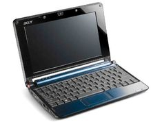 Acer Aspire One AOA150-1447 8.9-Inch Netbook (1.6 GHz Intel Atom N270 Processor, 1 GB RAM, 160 GB Hard Drive, XP Home, 6 Cell Battery) Sapphire Blue