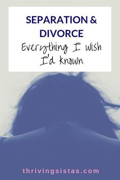 If you're currently going through the trials of Separation & Divorce - welcome. You're not alone. Here's everything I wish I'd known as a woman going through i Separation Quotes, Separation And Divorce, Preparing For Divorce, Dating After Divorce, Diy Divorce, Fixing Marriage, Divorce Surviving, Divorce Books, Divorce Party