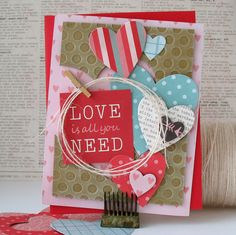 Love+is+All+You+Need+-+Pebbles - Scrapbook.com