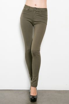 The perfect olive pants for fall! Style Me Posh Boutique