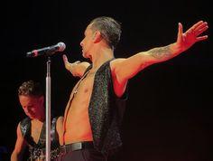 Dave Gahan, Martin Gore, Gahore, Depeche Mode, photo by Dingerz