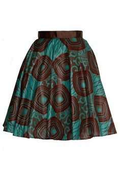 Style Icon's Closet style Vintage Inspired Pin-Up African Print Retro Rockabilly Clothing African Tribal Print style Skirt African Fashion Skirts, Ghanaian Fashion, African Print Dresses, African Print Fashion, Africa Fashion, African Wear, Skirt Fashion, Fashion Prints, African Prints