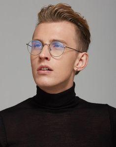 Men Eyeglasses Round Optical Frames Reading Glasses ss218
