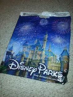 water bottle half full, freeze on its side then add water before day begins. Walt Disney World Shopping Bag Disneyland Vacation, Disney Vacation Planning, Disney World Planning, Walt Disney World Vacations, Disney Parks, Disney Cruise, Disneyland Hacks, Disneyland 2015, Vacation Planner