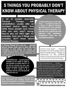 5 Things You Probably Don't Know About Physical Therapy