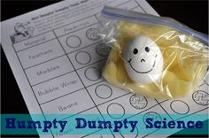 Humpty Dumpty Egg Drop I HEART CRAFTY THINGS: Humpty Dumpty Science