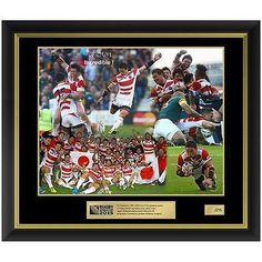 Rugby World Cup 2015 Japan v South Africa Official RWC Limited Edition Print