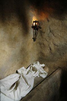 The tomb is still empty. HE is not here; HE has risen! He's risen, He's not here... Luke 24:6