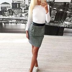 Women Lady Bodycon Fashion Long Sleeve Evening Party Mini Sundresses Dress