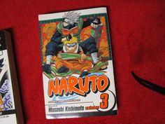 Naruto Masashi Kishimoto Shonen Jump Manga Anime vol issue #3 comic book