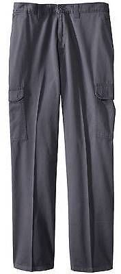 Dickies®; Men's Big & Tall Loose Straight Fit Cotton Cargo Work Pant- Cha... Mens Big And Tall, Big & Tall, Cargo Work Pants, Tall Pants, Stylish, Fitness, Cotton, Tops, Fashion