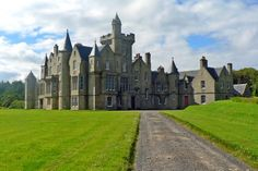 Balfour Castle. Isle of Orkney, Scotland. Nine bedrooms, nine bathrooms, a drawing room, a formal dining room, a billiard room, a private chef, a private chapel, a cinema, and a golf room with a 56-course simulator—and if you're not satisfied indoors, you can always go seal watching, shoot clay pigeons, or play paintball.