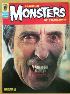 Famous Monsters of Filmland #84 June 1971 / Classic Monster Magazines archive / CollectingClassicMonsters.com