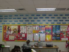 Word Wall (in a high school classroom)