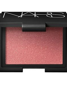 Pretty pink cheeks are especially noticeable in the winter when skin is known to lose its color and get a little dull. NARS blush in Super Orgasm has a hint of shimmer that will really brighten up a party.  #Nars #Beauty #Blush