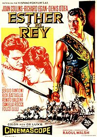 "Esther y el rey ""Esther and the King"" de Raoul Walsh y Mario Bava - Epic Movie, Love Movie, Film Movie, Joan Collins, Kings Movie, Jean Simmons, Old Movie Posters, People Art, Old Movies"