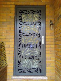 Another Fabulous Laser Cut Door custom made by Kings Security Doors, Sydney